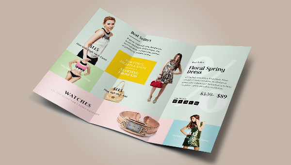 Fashion Brochure Templates
