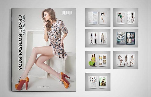 Fashion Designer Brochure Template