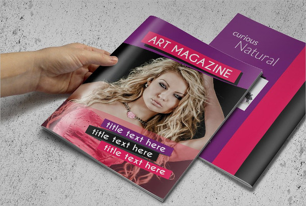 Fashion Magazine or Brochure Sample