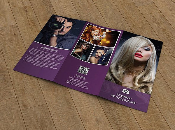 Fashion Photography Brochure Template