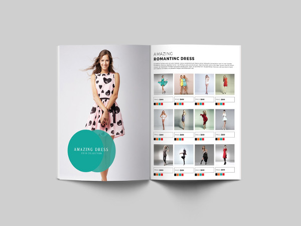 Fashion Products Catalog Template