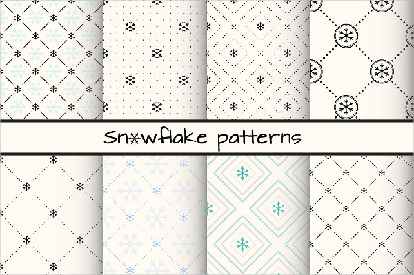 Fashion Snowflake Patterns