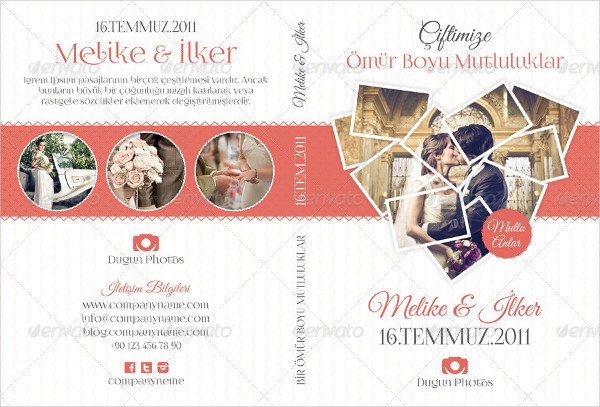 Fashion Wedding DVD Cover Templates