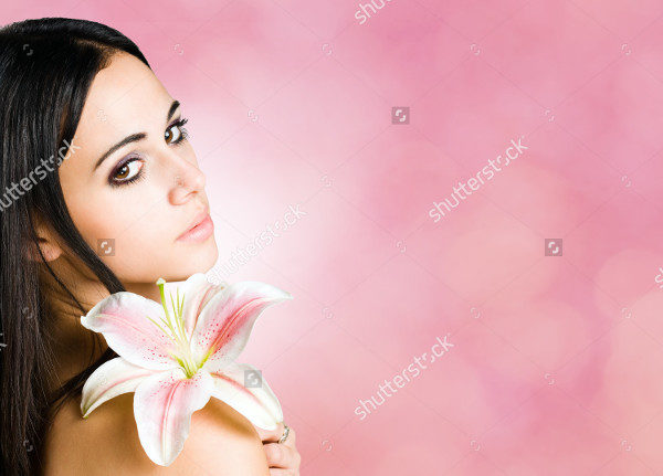 Bright Pink Feminine Beauty Banner Template
