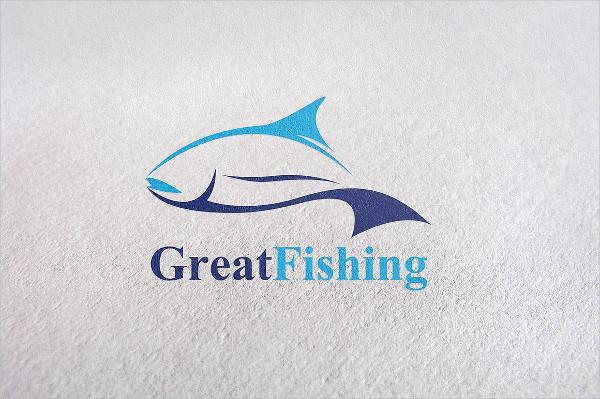 Fish Brand Logo Template
