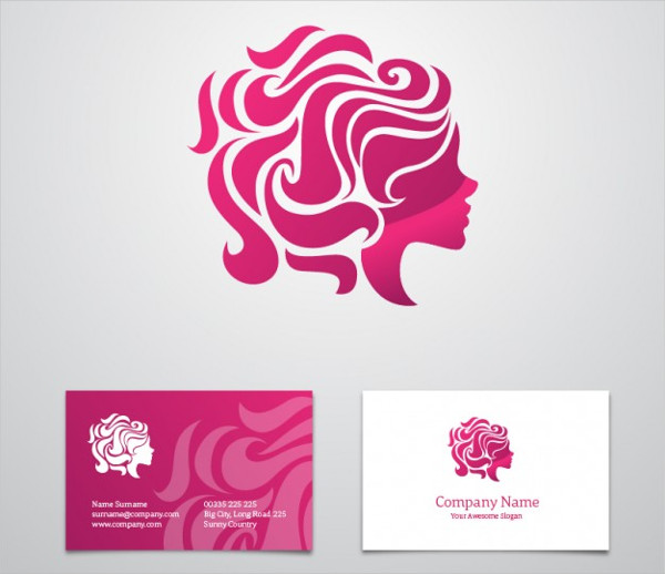 Free Beauty Business Card Template