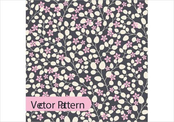Free Boho Vector Floral Pattern Design