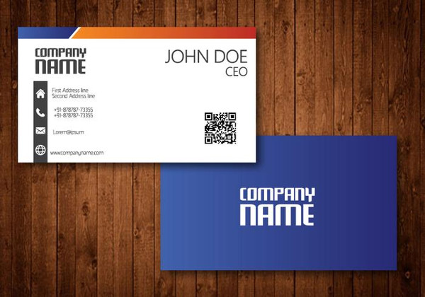 Free Business Cards Vector