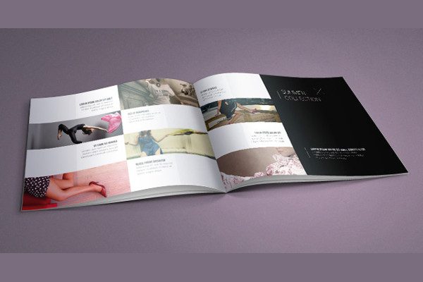 Free Fashion Catalog Brochure Template