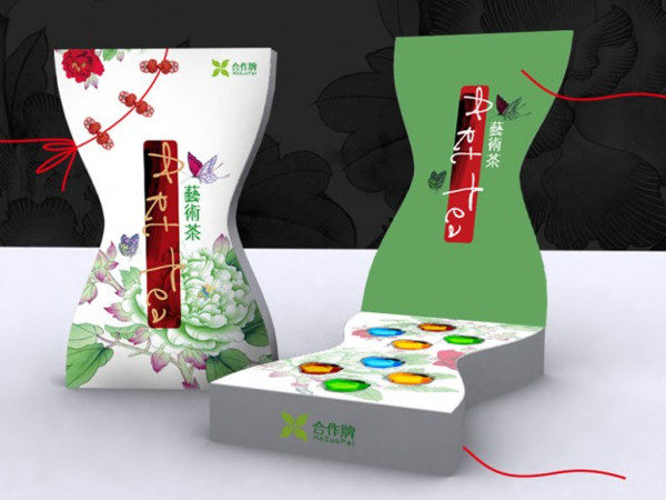 Tea Packaging with Oriental Style Free