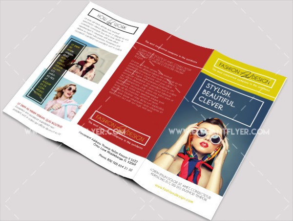 Free PSD Fashion Brochure Template