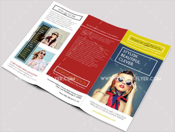 free psd fashion brochure template - Fashion Brochure Template