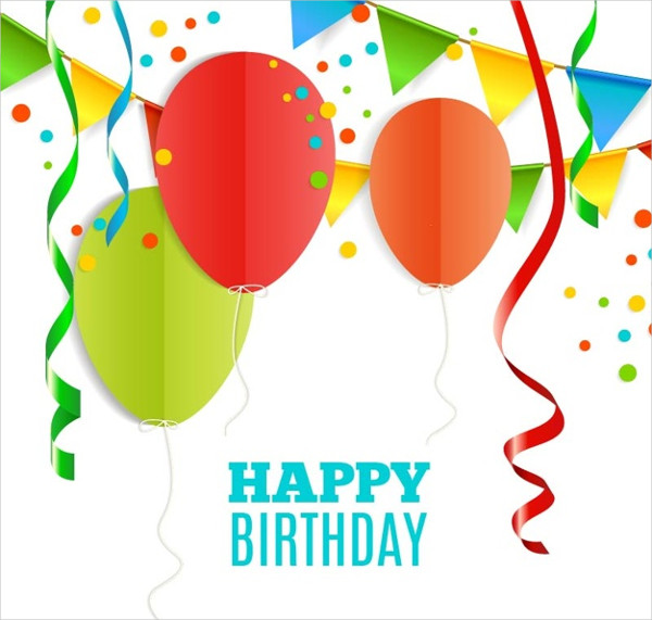 Funny Birthday Card Free Vector