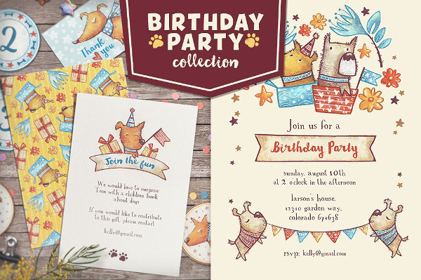 Funny Birthday Party Collection