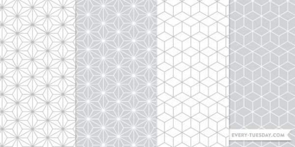 Geometrical Seamless Photoshop Patterns