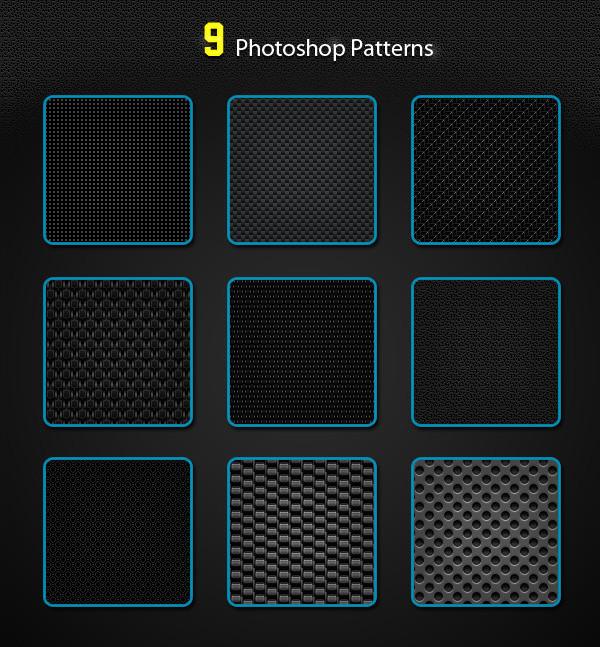 9 Photoshop Patterns for Websites