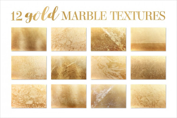Gold Marble Pattern Texture and Background