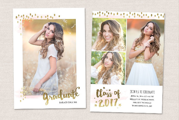 Awesome Graduation Card Template