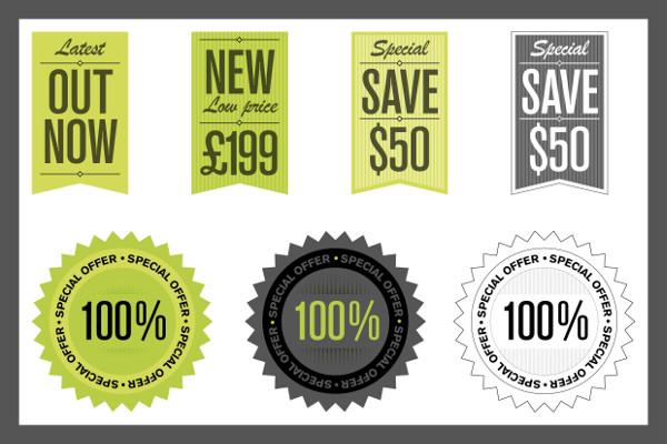 Graphic Design Price Label Templates