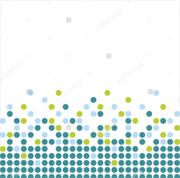 Circle Pattern on White Background