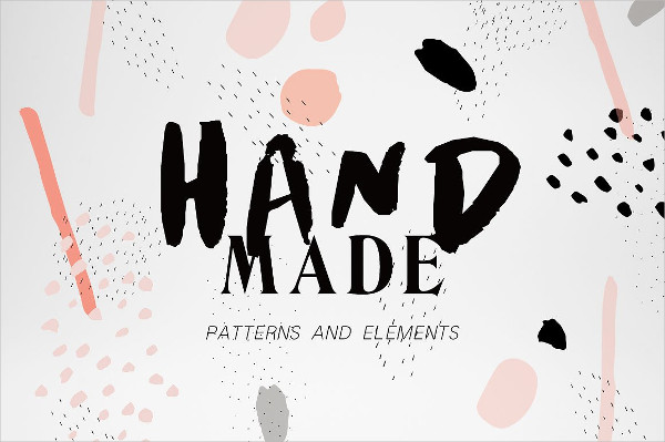 Hand Made Transparent Patterns Collection