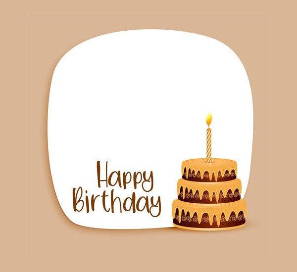 Happy Birthday Card Design Free Download