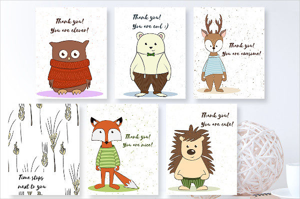 Happy Birthday Cards Collection with Cute Characters