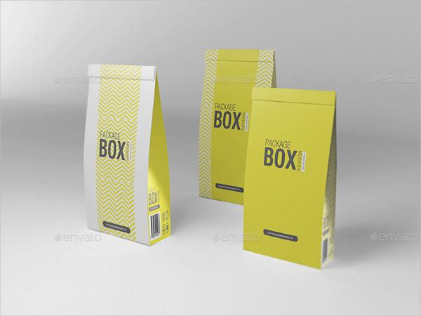 Elegant Design Package Box Mockup