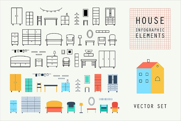 Cool Construction Icons Set