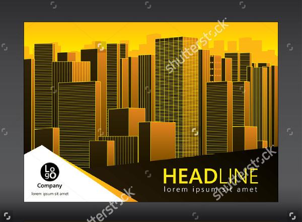 Horizontal Design Brochure Template