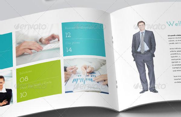 Horizontal Business Brochure Template