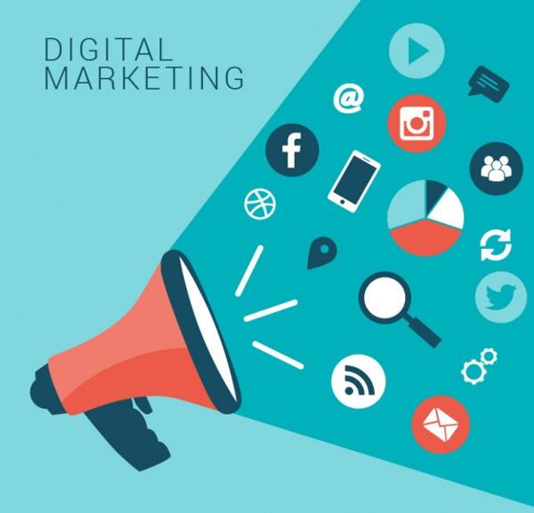 Infographic Marketing Icon Set Free