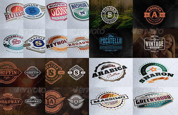 Popular Logo Badges