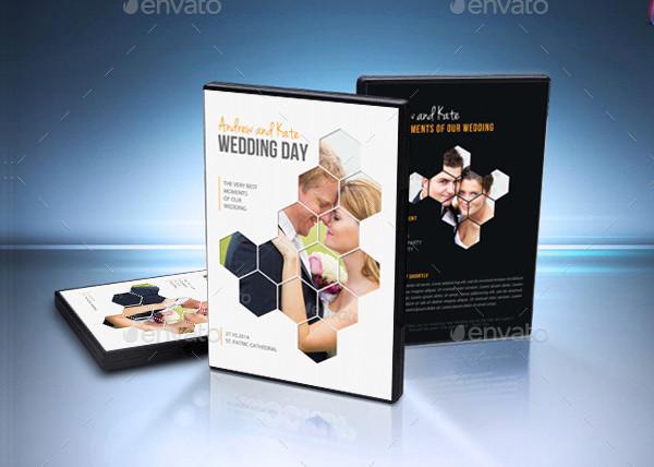 Wedding DVD Cover & Disk Label Artwork