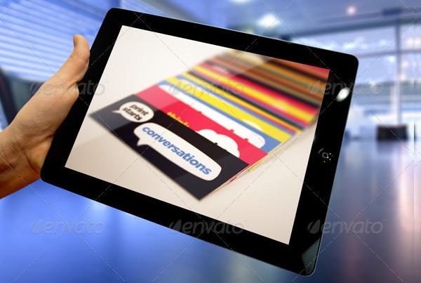 Popular Tablet Mock-Ups