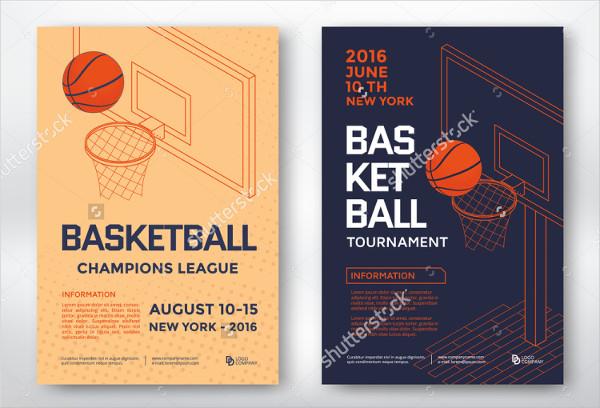 Basketball Tournament Posters Design