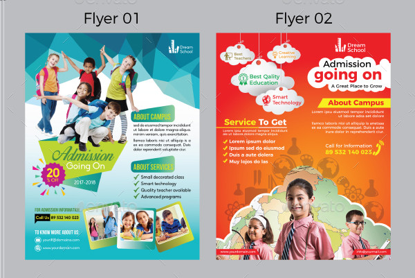 Junior School Flyers Bundle