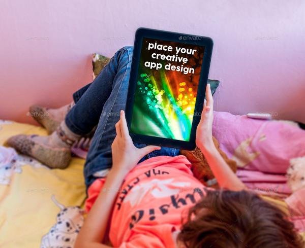 Kids Tablet Mock-Up