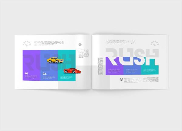 Landscape Magazine Mock-up Design
