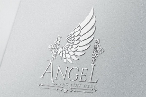 Luxury Angel Logo Templates