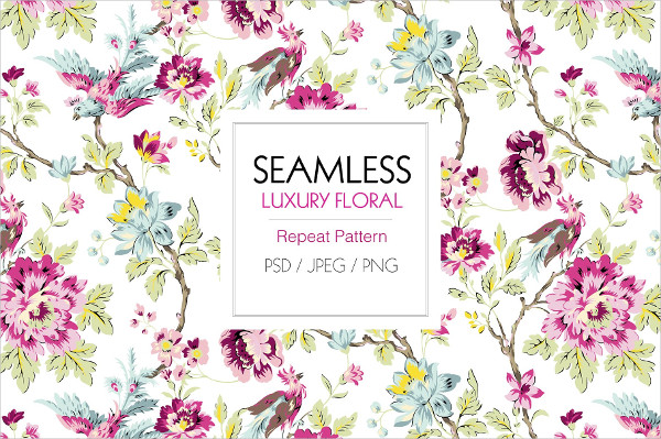 Seamless Luxury Transparent Pattern