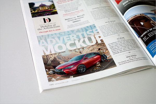 Magazine Advert Mockups