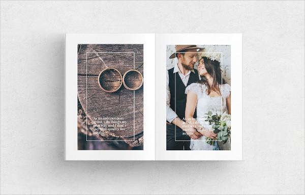 Branding Wedding Marketing Magazine Template