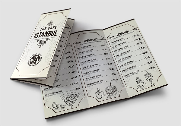 Minimalist Cafe Menu Pack