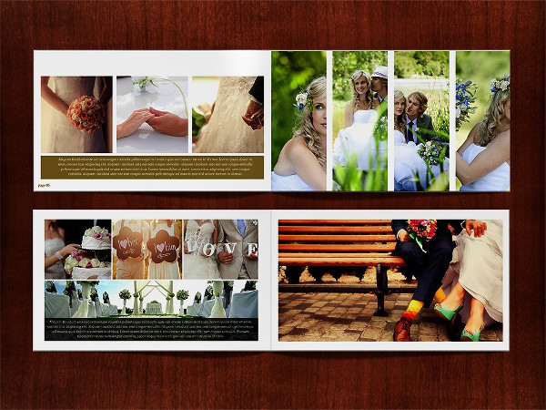 Digital Wedding Album Templates