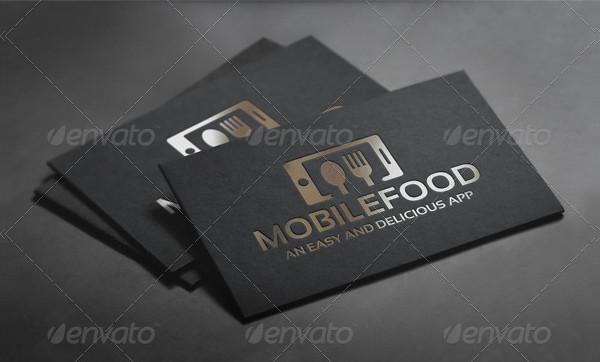 Mobile Food Logo Template