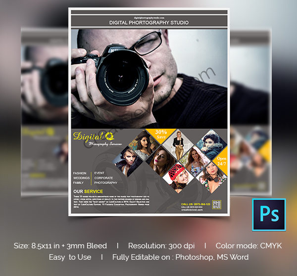 Creative Photography Club Flyer