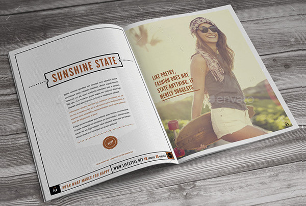 Modern Lifestyle Fashion Event Brochure Template
