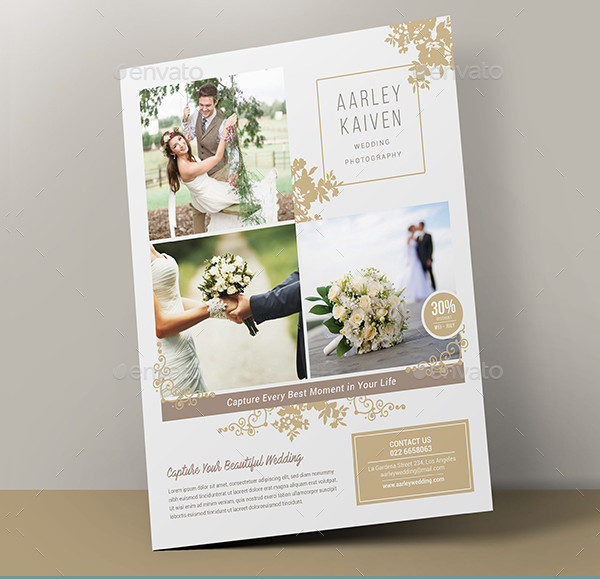 Wedding Photography Promotion Flyer Template