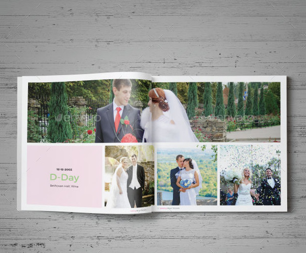 Modern and Professional Wedding Album Design